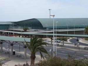 Exteriores del Aeropuerto de Fuerteventura