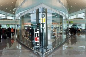 Tienda Duty Free en el Aeropuerto de Barcelona-El Prat