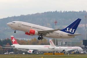 Boeing 737 de Scandinavian Airlines