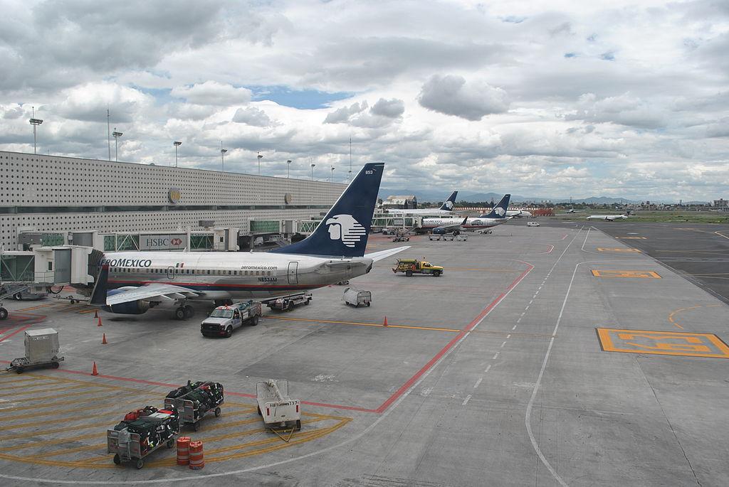 6 aeropuertos mexicanos registran poco tr fico de for Puerta 6 aeropuerto ciudad mexico