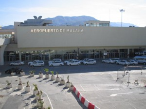 Terminal 1 en el Aeropuerto de Málaga